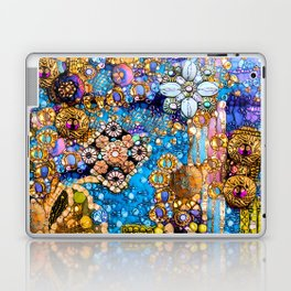 Gold, Glitter, Gems and Sparkles Laptop & iPad Skin