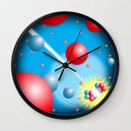 Splitting the Atom Wall Clock