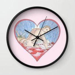 Sweet Cheeks Steve Wall Clock