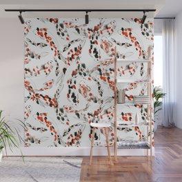 Living Jewel: Koi Wall Mural