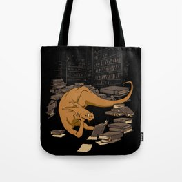 The Book Wyrm Tote Bag