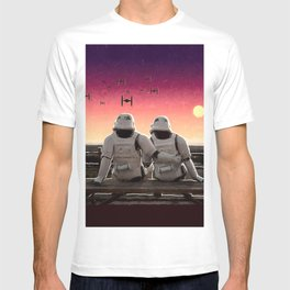 Stormtrooper Sunset T-shirt