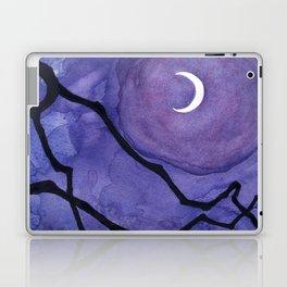 Crescent Moon and Night Sky  Laptop & iPad Skin