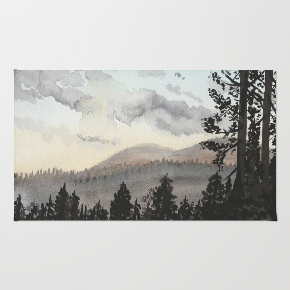 The Place Beyond The Pines Rug by Gabriellejade RUG9054648