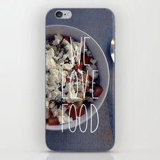 We love Food iPhone & iPod Skin