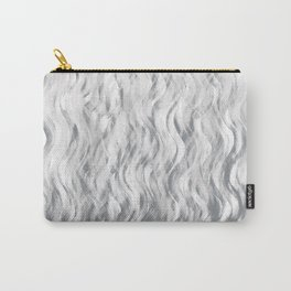 Silver Waves Carry-All Pouch
