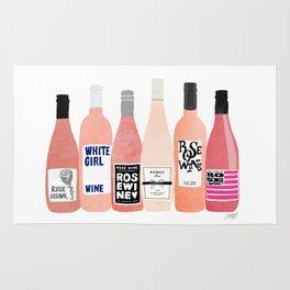 Rose Bottles Rug