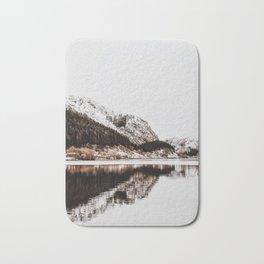 LAKE - OCEAN - BAY - SNOW - MOUNTAINS - HILLS - PHOTOGRAPHY Bath Mat