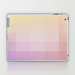 Pixel Gradient between Soft Yellow and Grayish Red Laptop & iPad Skin