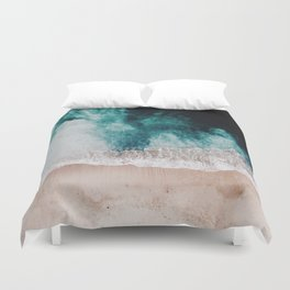 Ocean (Drone Photography) Duvet Cover