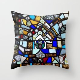 Beauty in Brokenness Andreas 2 Throw Pillow