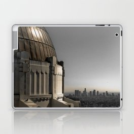Griffith Park Observatory with Downtown LA Skyline Laptop & iPad Skin