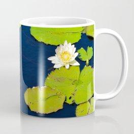 Dark Blue Pond by Teresa Thompson Coffee Mug