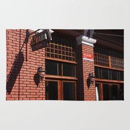 Red Brick Wall... Rug