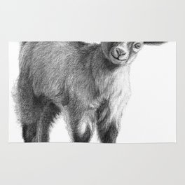 Goat baby G097 Rug