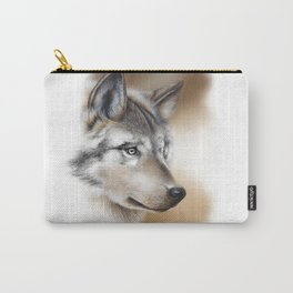 """Focus"" by Claude Thivierge Carry-All Pouch"