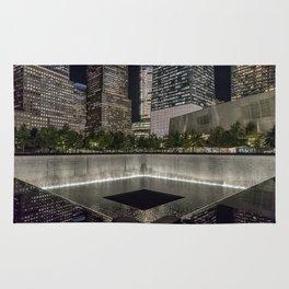 9-11 Memorial New York City Rug