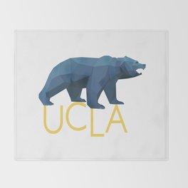 UCLA Geometric Bruin Throw Blanket