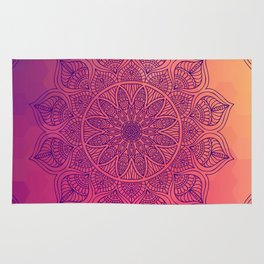 Happy Mandala Rug