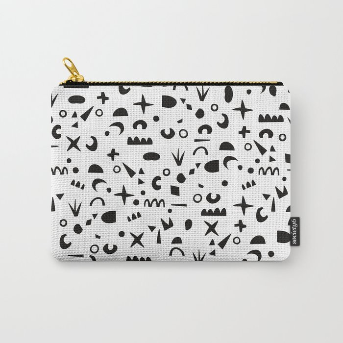 Paper Pieces Carry-All Pouch
