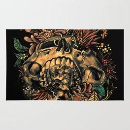 Skull Flora Rug