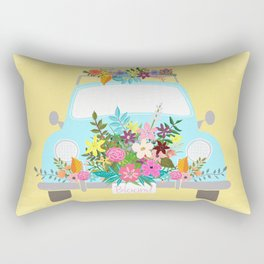 Bloom Where You Are Planted Rectangular Pillow