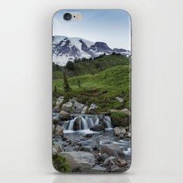 Edith Creek and Mount Rainier iPhone Skin
