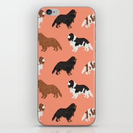 Cavalier King Charles Spaniel must have gift accessories for dog breed owner king charles dog iPhone Skin