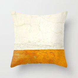 Goldness Throw Pillow