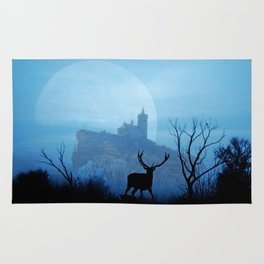 Stag moon Rug