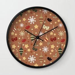 Christmas theme Wall Clock