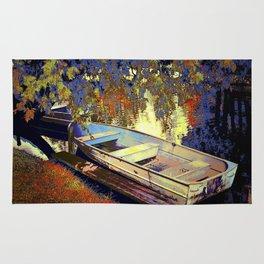 Boat Number 12 Rug