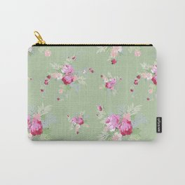 Rosanna on Green Carry-All Pouch