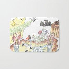 Santos Zapatos (Dreamscape) Bath Mat