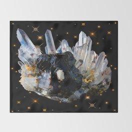 Star Aura Quartz Throw Blanket