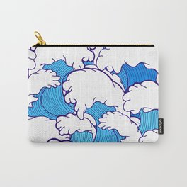 Waves of the high tide Carry-All Pouch