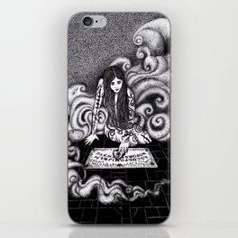 Beauty and the Board / Beauty and the Beast iPhone Skin