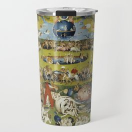 THE GARDEN OF EARTHLY DELIGHT - HEIRONYMUS BOSCH Travel Mug
