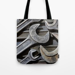 Group of old wrenches Tote Bag