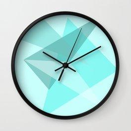 Triangles No15 Wall Clock
