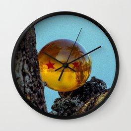 TWOxSTARxDRGN Wall Clock