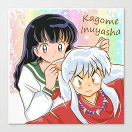 Inuyasha <3 Kagome Canvas Print