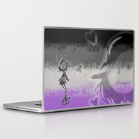 asexual Laptop & iPad Skins featuring Ace Girl by Mack-Beth