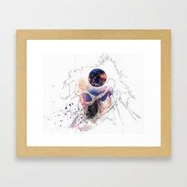 Mind Over Mullet Framed Art Print