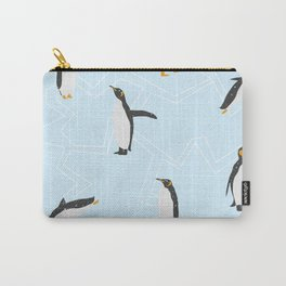Penguins on Ice Floes Carry-All Pouch