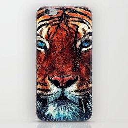 Tiger spirit iPhone Skin