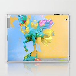 The Fly of Angelic Flowers - Digital Mixed Fine Art Laptop & iPad Skin