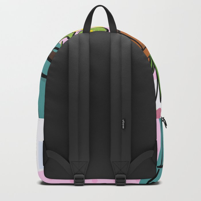 Three Curious Cats Backpack