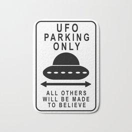 UFO Parking Bath Mat