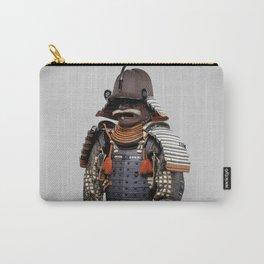 Historical Samurai Armor Photograph (18th Century) Carry-All Pouch